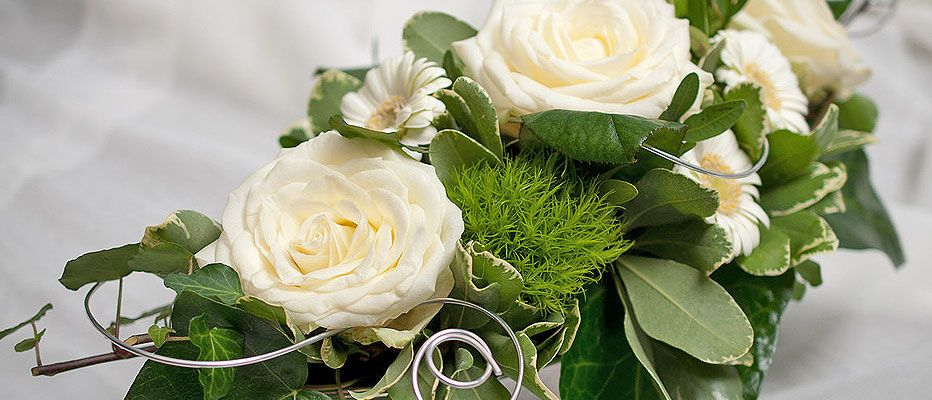 Für jeden Anlass die passende Blumen- und Pflanzendekoration.