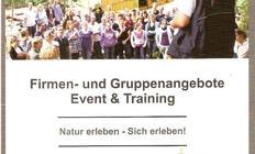 Flyer vom Kletterwald Scharnebeck